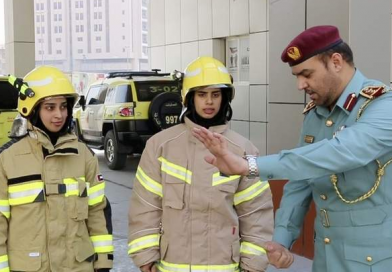 Meet the first women firefighters of UAE