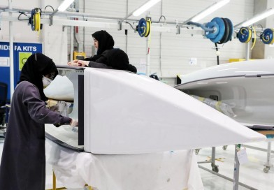 Emirati women are flying high in the aviation industry