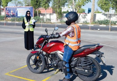 Meet UAE's first woman examiner for motorcycle driving tests